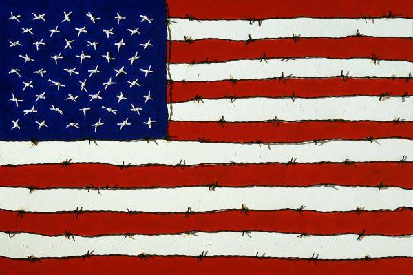 George Mullen, Revolution Art: Freedom and Tyranny, 1997, 24